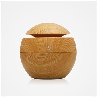 humidificateur d 39 air 130ml diffuseur d 39 huiles essentielles en bois pour maison bureaux achat. Black Bedroom Furniture Sets. Home Design Ideas