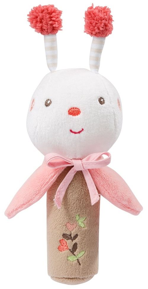 Fehn jouets à saisir Garden Dreams 19 cm blanc/brun clair