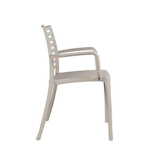 Lot de 4 fauteuils sunday design grosfillex