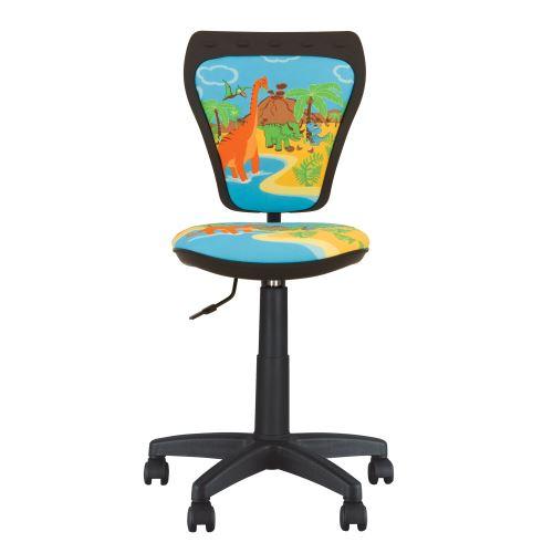 Chaise, Fauteuil De Bureau Enfant Ministyle Dino. Bleu.