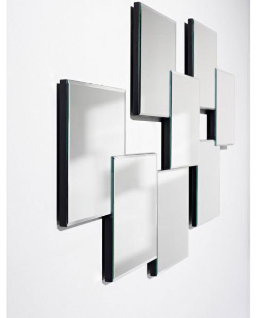 Miroir DESIGN MEMO Modern Contemporain Rectangulaire Naturel 80x144 cm