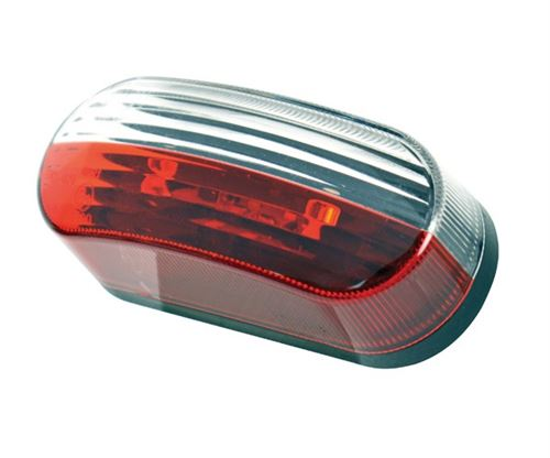 Carpoint lED à grande luminosité 10-30V 40 x 100 mm rouge/blanc