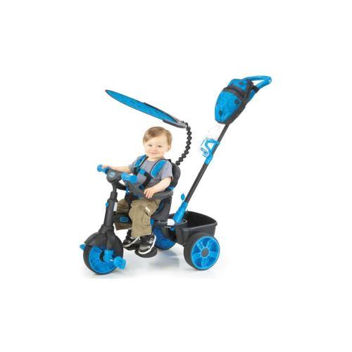 Little Tikes Tricycle Evolutif 4 En 1 Deluxe Edition Neon Bleu