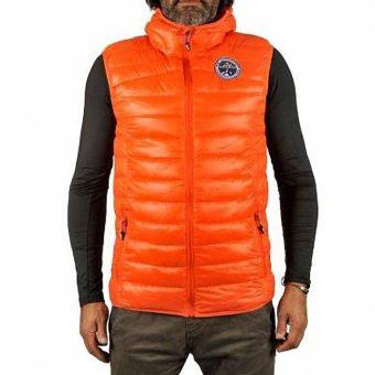 la meilleure attitude 826b1 14d0f peak mountain - doudoune sans manches homme cord- orange ...