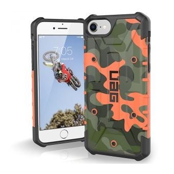 UAG Pathfinder SE Camo Series Rugged Case for iPhone 8 7 6s Coque de protection pour telephone portable camouflage chae pour Apple iPhone 6s 7 8