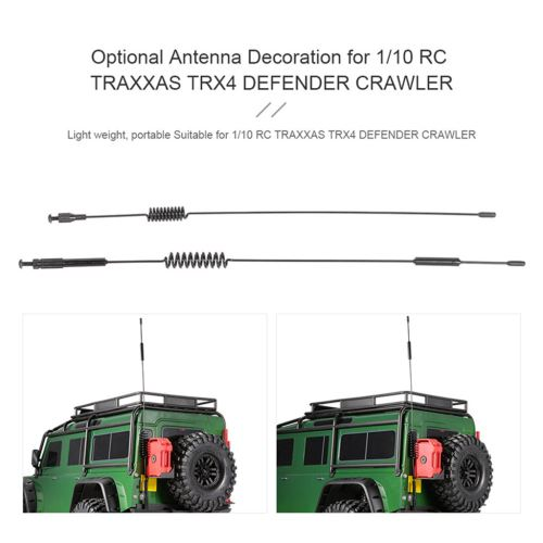 Antenne en option Décoration pour 1/10 RC TRAXXAS TRX4 CHENILLES