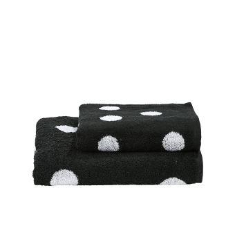 DONE Daily Shapes DOTS 1 serviette de toilette + 1 drap douche ...