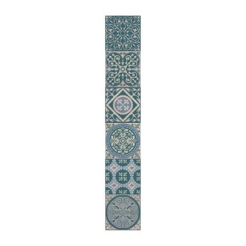 Plage sticker déco carrelage - carreaux forli6 planches 15 x 15 cm