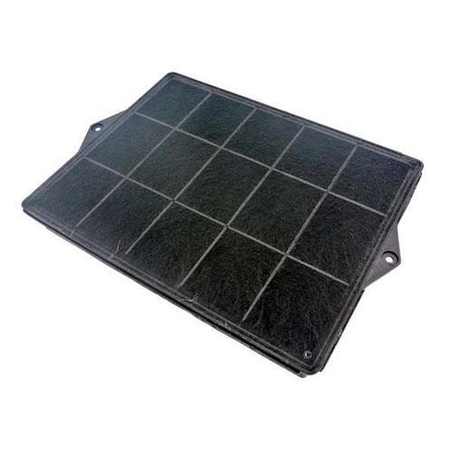 Filtre charbon rectangulaire type 160 (DKF41) (à l'unité) Hotte 481281718527, F00187/1 WHIRLPOOL, SCHOLTES, ROSIERES, BAUKNECHT, ELICA, ARISTON HOTPOINT, FAGOR, NEFF, IKEA WHIRLPOOL, BOSCH, BRANDT, SIEMENS - 51044