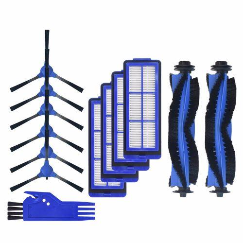 Kit accessoire aspirateur pour DEufy 15 Max filtre brosse latérale bleu