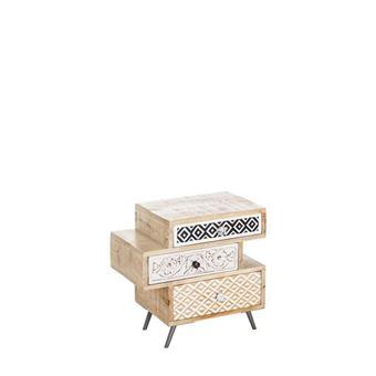 PrixFnac Tiroirs Achatamp; De Clea Chevet Table 3 8ymNOvn0wP