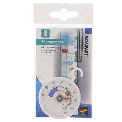 Scanpart Thermomètre Thermomètre De Réfrigérateur, Sans Mercure