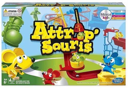 Attrap souris pieges et cascades de folie - jeu de societe action - enfant 6 ans+