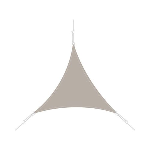 Easy Sail - Voile d'ombrage triangle 5x5x5m taupe