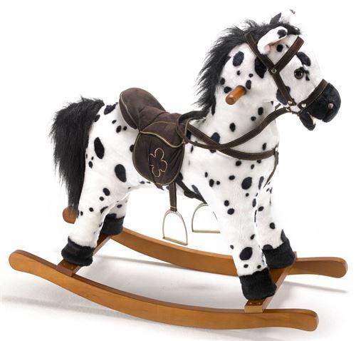 Bayer - chic 2000 - 40506 - cheval à bascule avec sons - hauteur selle : 46 cm