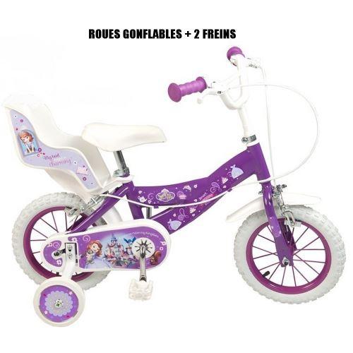 Vélo Princesse Sofia 12 pouces Disney enfant