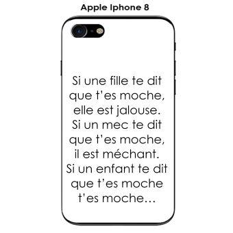 iphone 8 coque citation