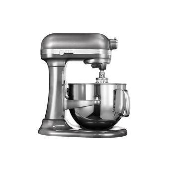KitchenAid Artisan 5KSM7580XEMS - robot pâtissier - 500 Watt - gris étain
