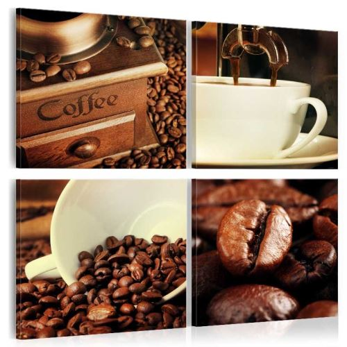 Tableau - Coffee Tasting - Size: 80x80