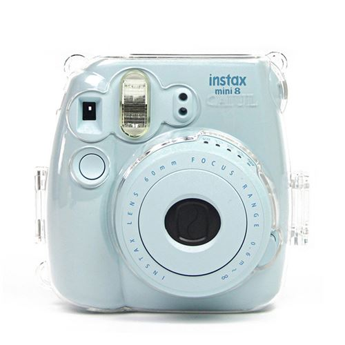 Étui de protection antichoc transparent pour Fujifilm Instax Mini 8 / 8+ / 9
