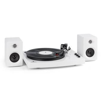 80 sur auna tt play platine vinyle 2 enceintes st r o 3 10w tourne disque 2 vitesses. Black Bedroom Furniture Sets. Home Design Ideas