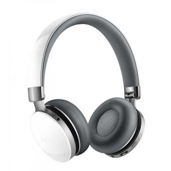 casque audio fiil canviis pro bluetooth et r ducteur de bruit actif blanc 4go de stockage. Black Bedroom Furniture Sets. Home Design Ideas