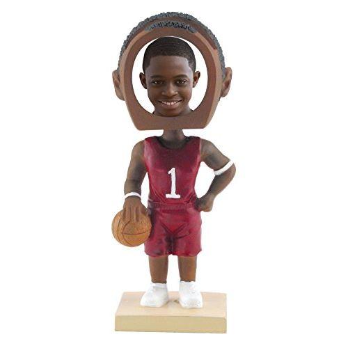 Neil Enterprises, Inc Photo: Joueur de basket-ball Photo: Bobble Head - Ton peau foncée