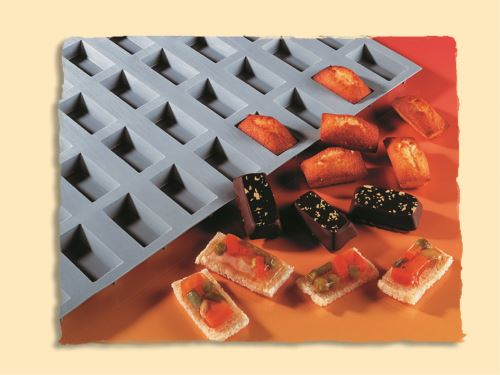 Moule silicone 56 micro rectangles