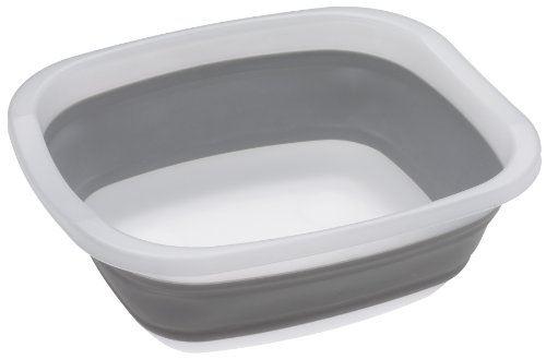 Progressive cdt-1ml bassine rétractable gris 9,5 l