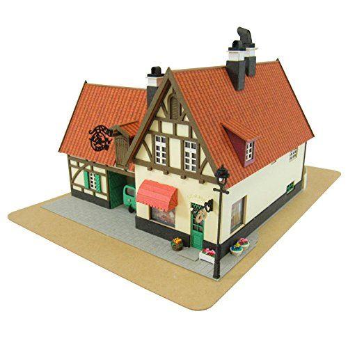 1150 Kikis Delivery Service Bakery Gutiokipanja Kits d'artisanat en papier Gutiokipanya Mk07-02 de Studio Ghibli