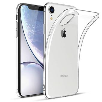 Coque Gel TPU Transparent pour Apple iPhone XR Coque Houe Etui Protection Gel TPU Silicone Souple Ultra Mince Fine Slim Leger Phonillico