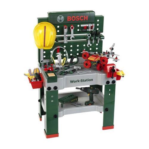 bricolage - etabli - outil bosch - etabli workstation n°1 pour enfant