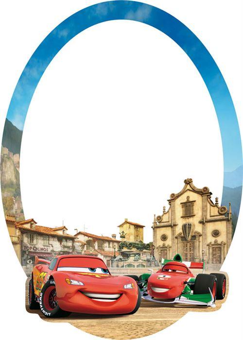 Miroir Flash McQueen Cars Disney