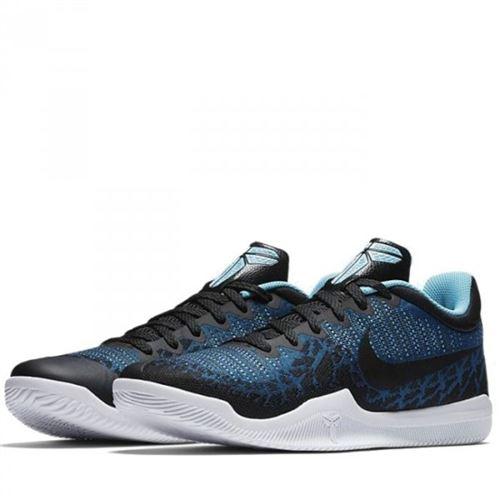 Chaussure de BasketBall Nike Kobe Mamba Rage Bleu pour homme