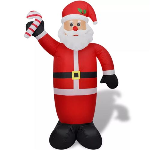 Noël DECO 240 cm Père Noël gonflable