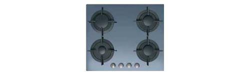 Candy CVG 64 SGX - Table de cuisson au gaz - 4 plaques de cuisson - Niche - largeur : 56 cm - profondeur : 48 cm - noir - miroir