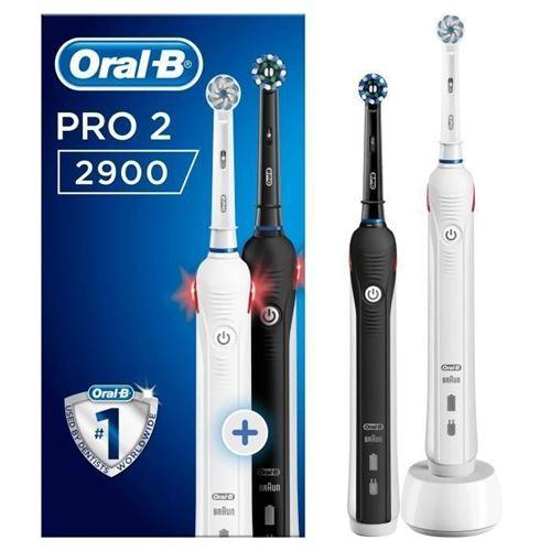 oral-b brosses a dents électriques pro 2 2900