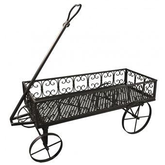 l 39 h ritier du temps chariot roulettes panier bois porte buche ranges buches de chemin e. Black Bedroom Furniture Sets. Home Design Ideas