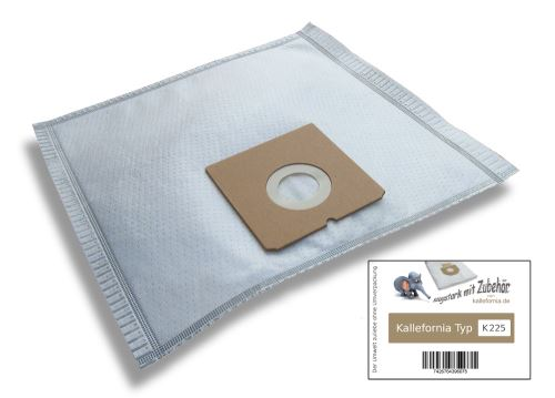 Kallefornia k225 de 10 sacs pour aspirateurs bestron aBG200BB RAPIDO