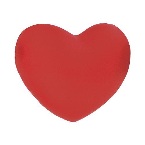 Coussin en microbilles Cœur - Rouge