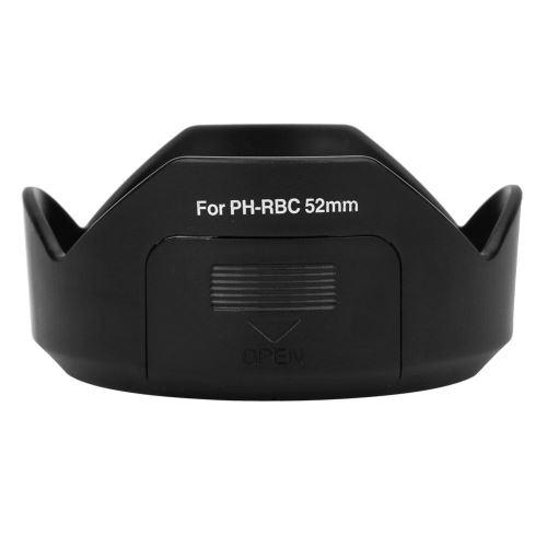 Remplacement du parasoleil en plastique PH-RBC pour PENTAX SMC DA 18-55MM F3.5-5.6AL WR 52mm