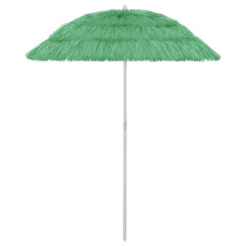 Parasol de plage 180 x 180 cm Vert