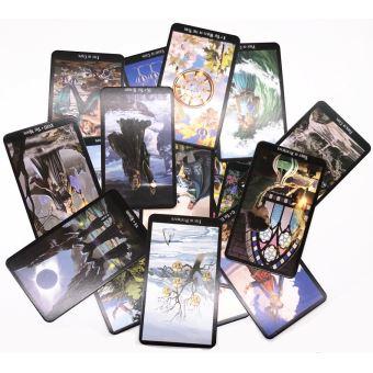 78 Cartes De Jeu Mystic Tarot Jeu De Cartes Jeu De Societe Lire Le Destin Mythique Divination Pour Fortune Sorciere Jeu De Cartes En Anglais A Jeu De Cartes Achat