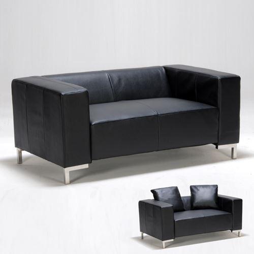Canapé DIVA 2 places / Noir