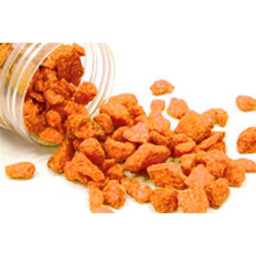 Atmosphera - Pierres décoratives couleur vive - Orange - Orange