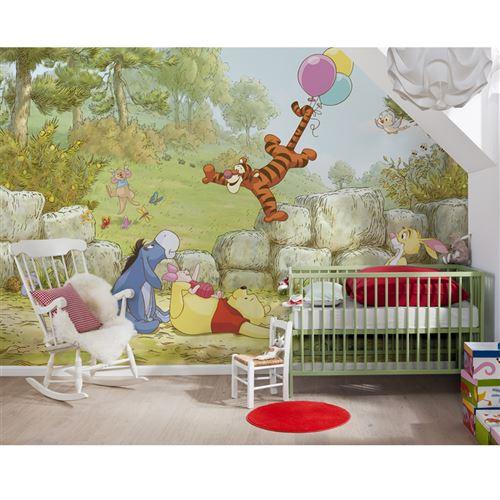 Papier peint Winnie l'Ourson Ballon Disney 368X254 CM