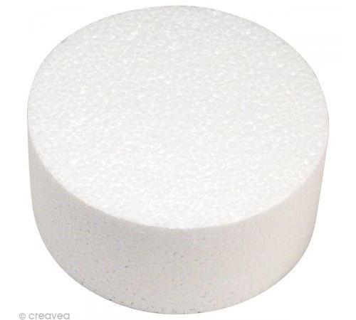 Disque en polystyrène Diamètre 10 cm