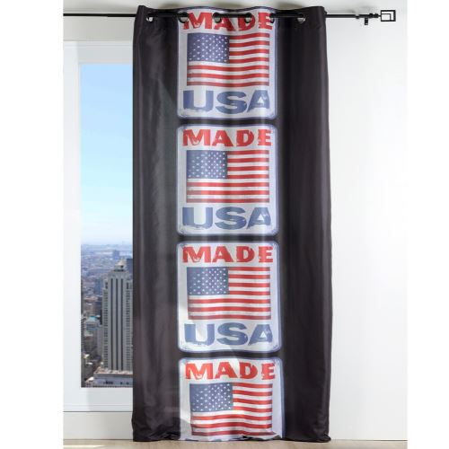 Un panneau de rideau à oeillets Made USA