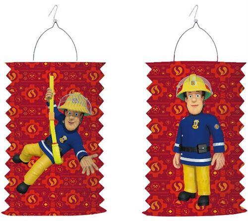 Amscan papier Lampion pompier Sam 28 cm