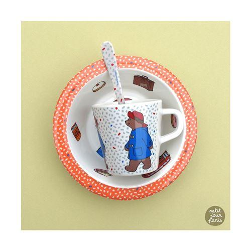 Set premiers repas Paddington Petit Jour Paris Multicolore